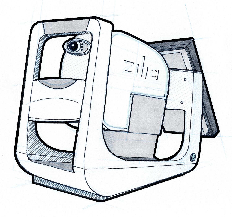 Scanner optique, Zilia